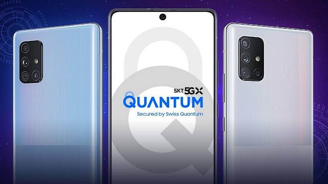 """سامسونغ تعلن عن أول هاتف مزود بـ """"تقنية الكم"""""""