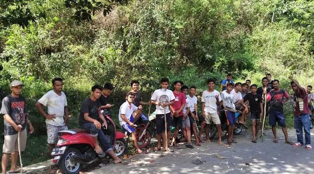 Bakti Sosial Muda-Mudi Desa Golo Ndeweng
