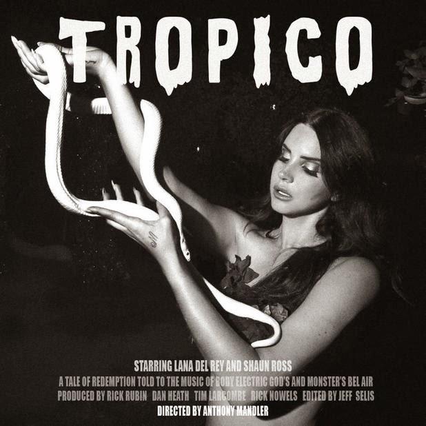 """Il Giardino Dell Eden Original Motion Picture Soundtrack: IL 5 DICEMBRE ARRIVA """"TROPICO"""", IL CORTOMETRAGGIO DI LANA"""