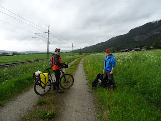 Peregrino en el Camino de St Olav