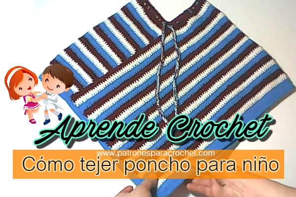 patrones-poncho-ganchillo-para-niños