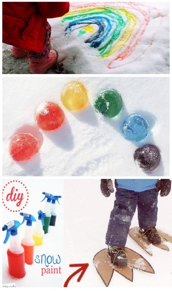 22+ fun and creative ways for kids to play in the snow #snow #snowplayideas #snowactivitiesforpreschool #growingajeweledrose #activitiesforkids