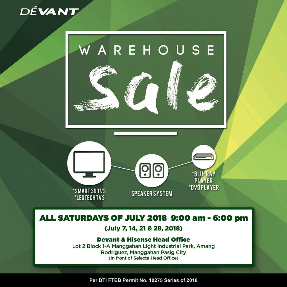 manila shopper devant warehouse sale july 2018 blinking led circuit devant led tv schematic diagram [ 960 x 960 Pixel ]