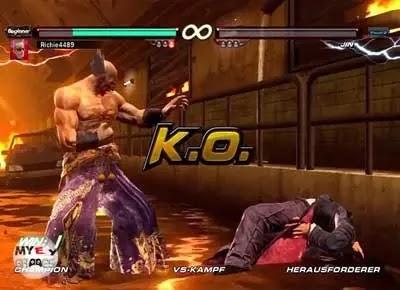 شرح لعبة تيكن 6 Tekken للكمبيوتر وطريقة اللعب