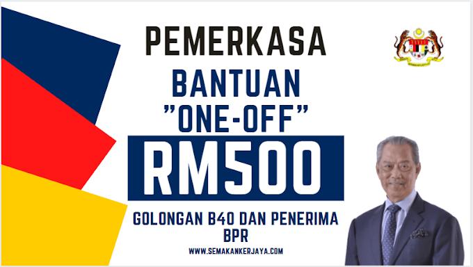 PEMERKASA: Bantuan RM500 Untuk Golongan B40, Penerima Bantuan Prihatin Rakyat