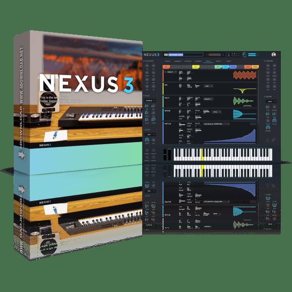 ReFX Nexus 3 v3.4.4 + Factory Library