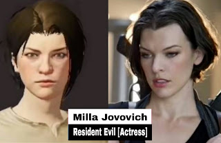 Resident evil actress
