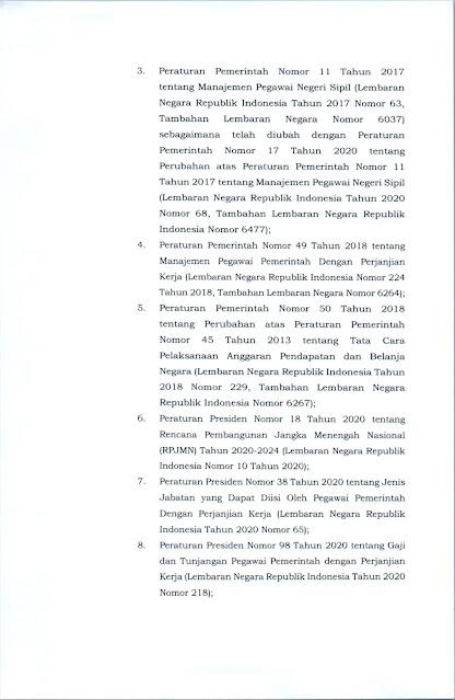 FORMASI ASN 2021 Pemkab Barito Selatan