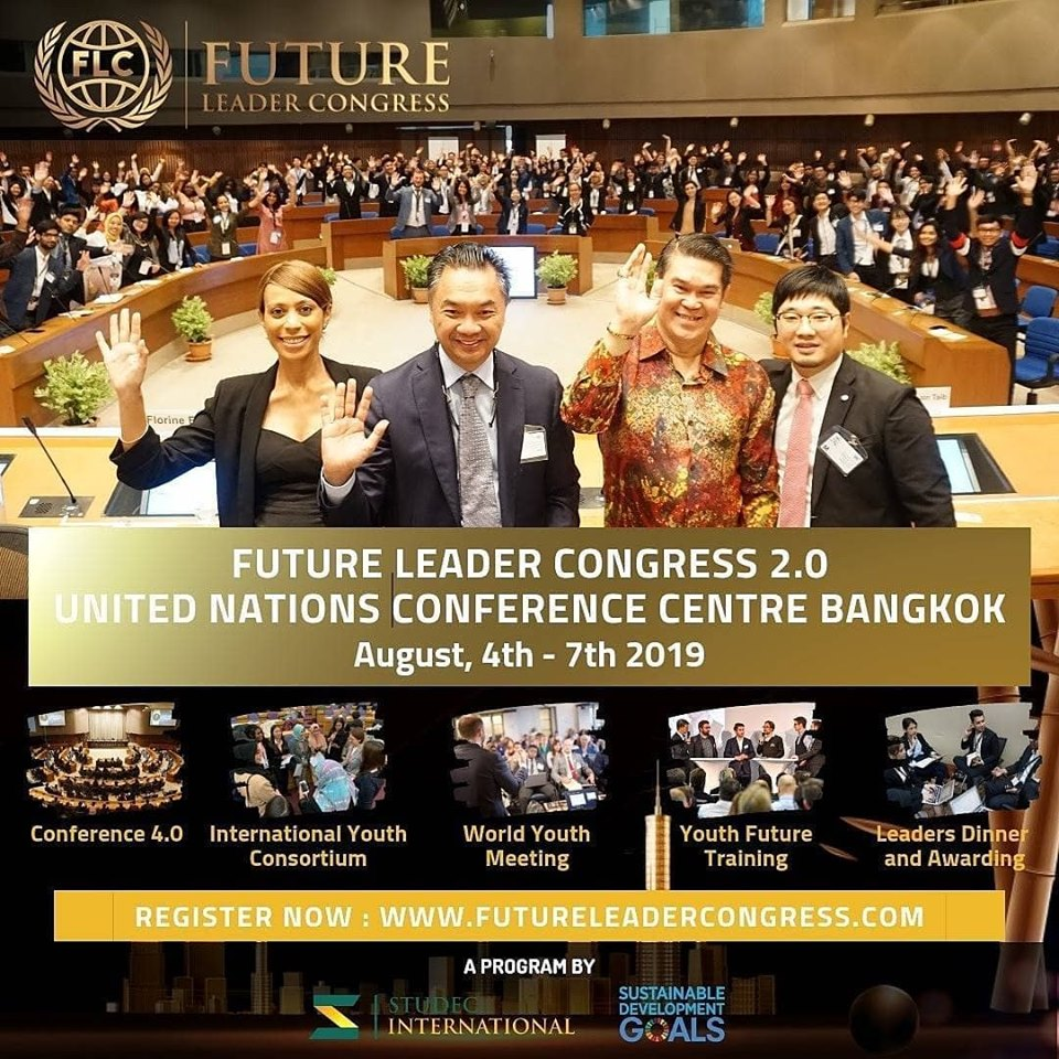 Future Leader Congress 2 0 2019 at United Nations Conference