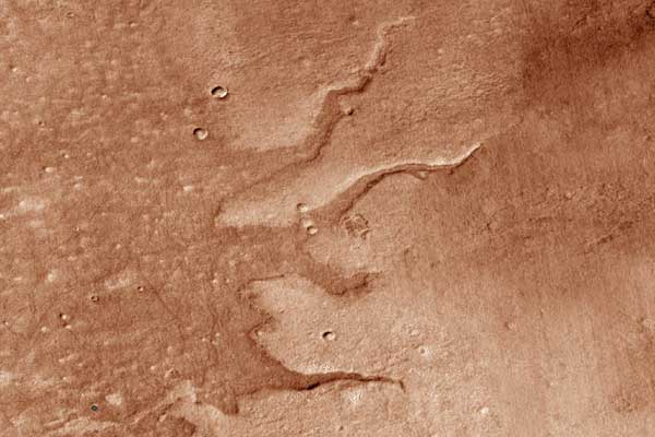 Pesquisadores planetários criam mapa dos primeiros sistemas fluviais de Marte
