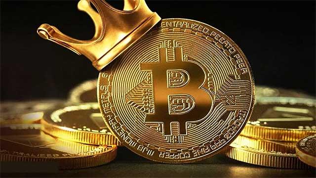 إرتفاع سعر Bitcoin إلى ما يزيد عن 55 ألف دولار