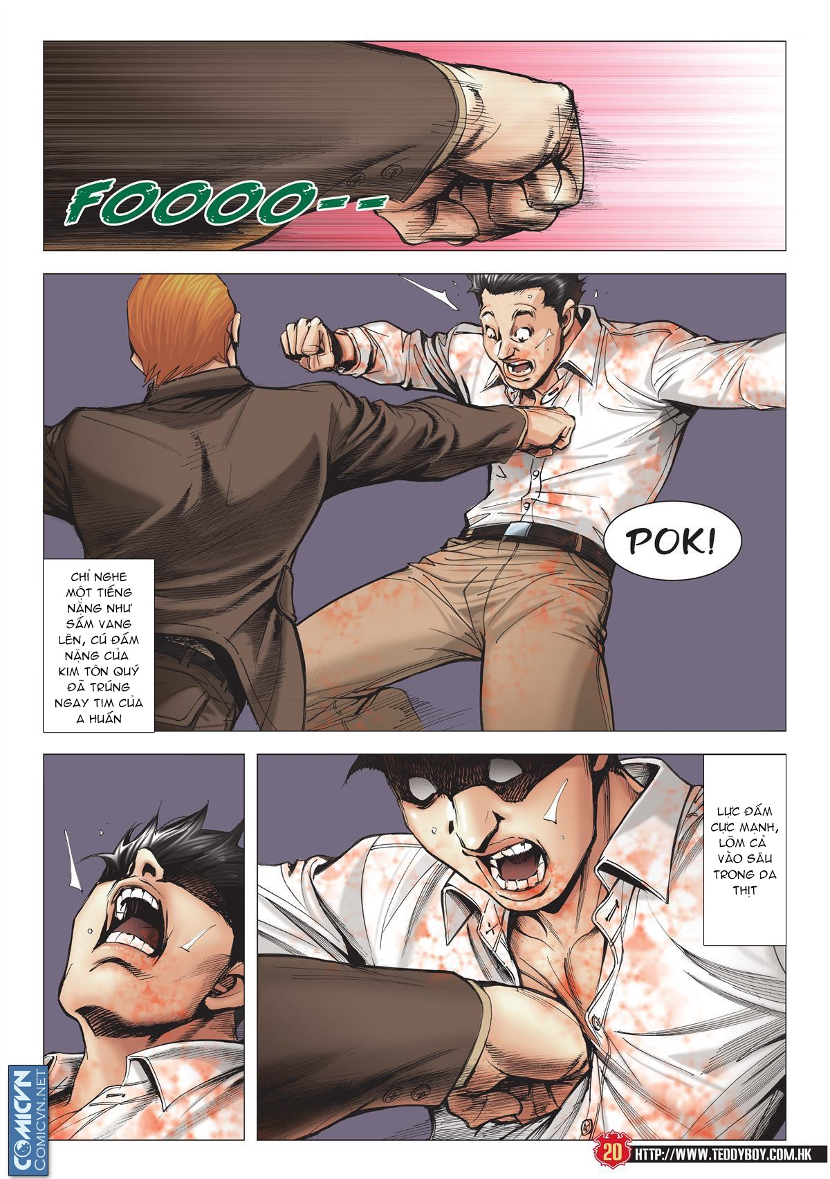 Người Trong Giang Hồ chapter 1997: triệu oánh vs đinh dao trang 18