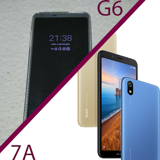 Old LG G6 vs new Redmi 7A