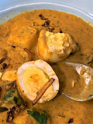 Mangalorean Egg Curry, Ande Ambat, Konkani, Tulu