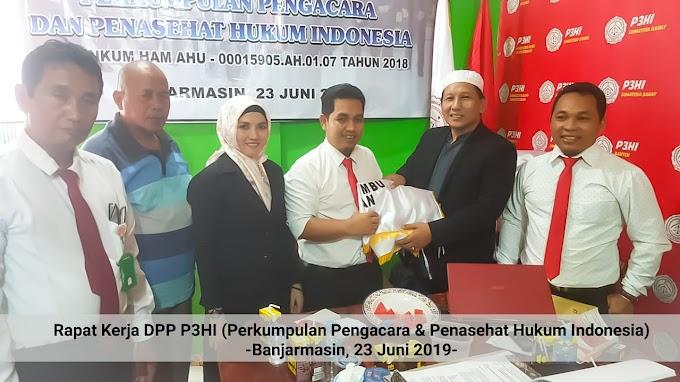 Tingkatkan Kehormatan dan Kualitas  Advokat, P3HI Akan Gelar Rakernas Ke 1 di Banjarmasin