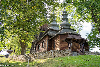 Cerkiew w Wojkowej - widok ogólny