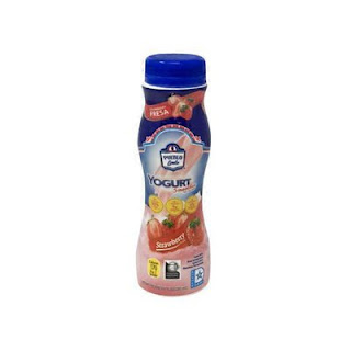 A stock image of Pueblo Lindo Strawberry Yogurt Smoothie, from Aldi