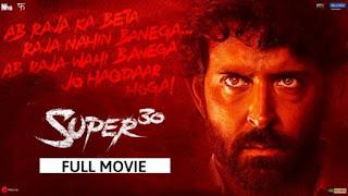 Super 30 Full movie