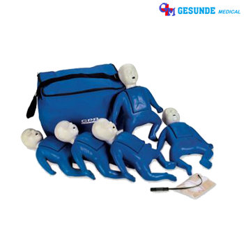 Nasco CPR Prompt LF06050U | Manekin CPR Prompt Bayi 5 Pack (Tan or Blue)