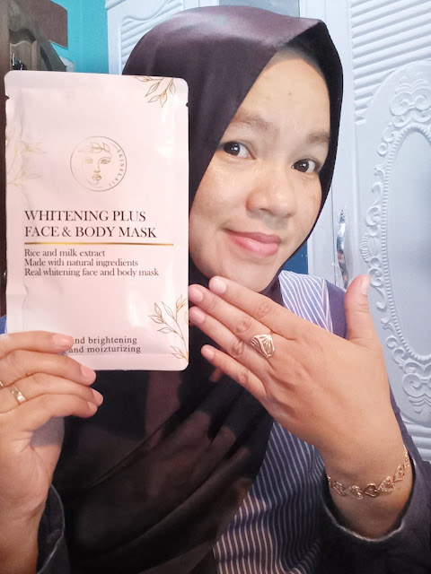 Get miracle to glow your skin gaes with Whitening Face and Body Mask