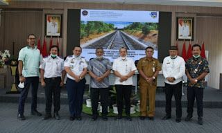Bupati Batu Bara Terima Kunjungan Kerja Balai Teknik Kereta Api Medan