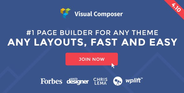 Visual Composer v4.10 – Premium Page Builder for WordPress Plugin