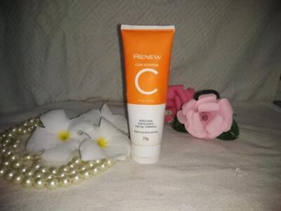 vitamina c,  cuidados com a pele Avon renew