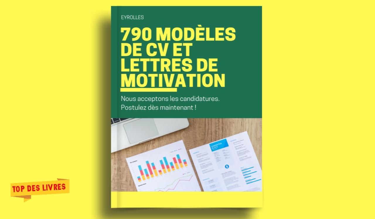 Télécharger : 790 modèles de CV et Lettres de motivation en RAR