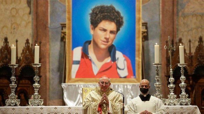 Paus Fransiskus: Beato Carlo Acutis Saksi Kristus untuk Generasi Muda