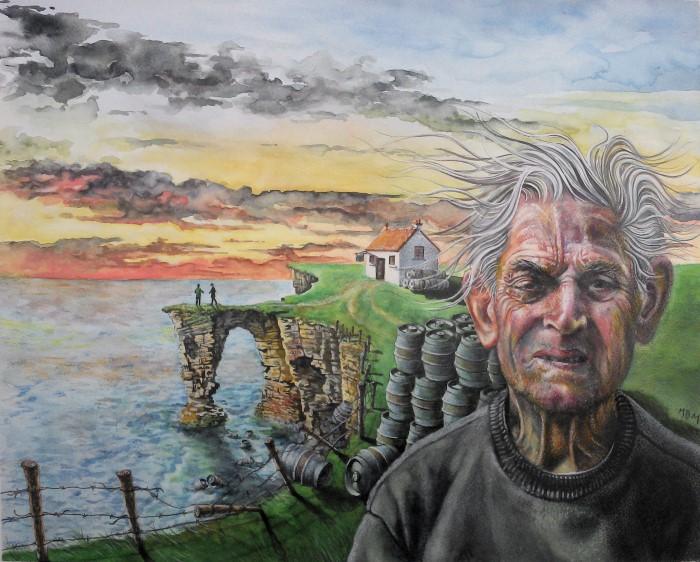 Шотландский художник.