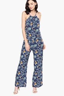 Nush Womens Printed Jumpsuit