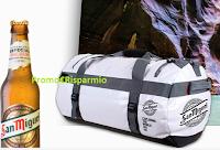 Logo Vinci 900 borsoni da viaggio OverBoard con San Miguel Especial