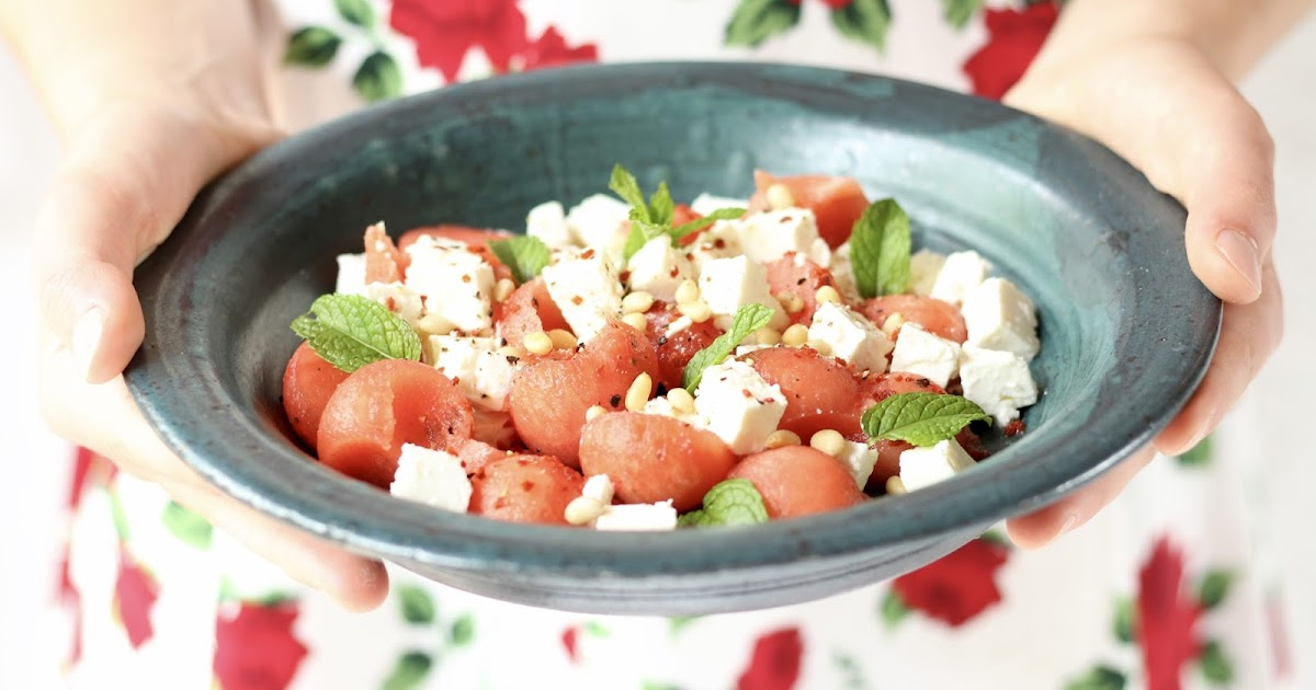 sugarprincess der fitnessklassiker wassermelone feta salat mit limette chili und minze. Black Bedroom Furniture Sets. Home Design Ideas