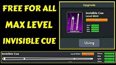 Invisible cue level max free