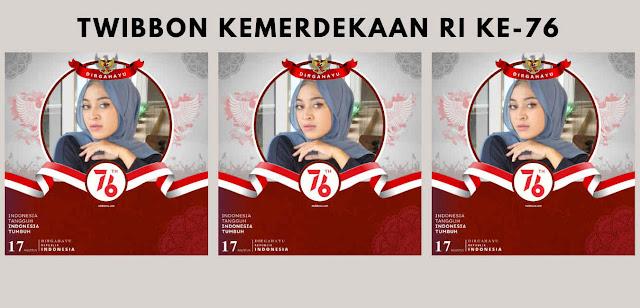 Gambar Twibbon Hari Kemerdekaan RI 17 Agustus