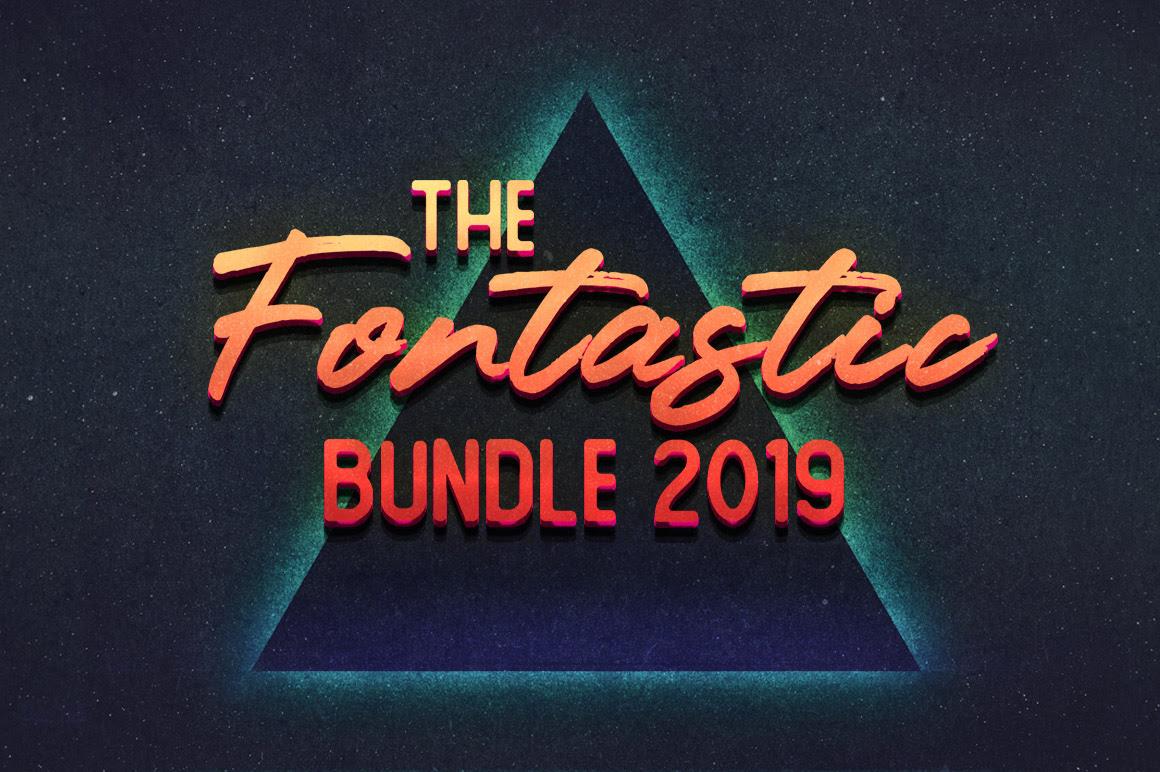 The Fontastic Bundle 2019