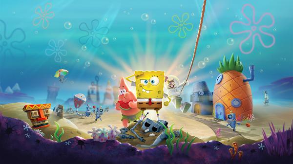 wallpaper spongebob hd 3d
