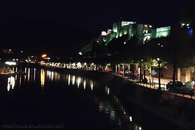 Bouillon castle torchlight night tour