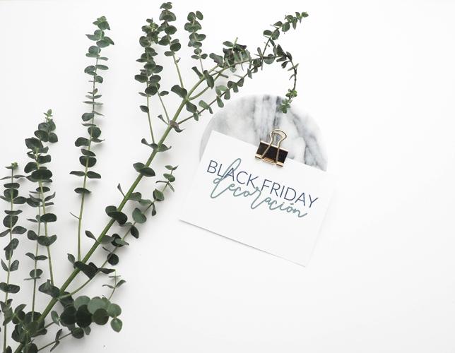Los mejores descuentos en decoración, Black friday 2018