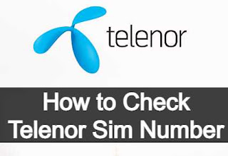 How to check your own Telenor Sim Number