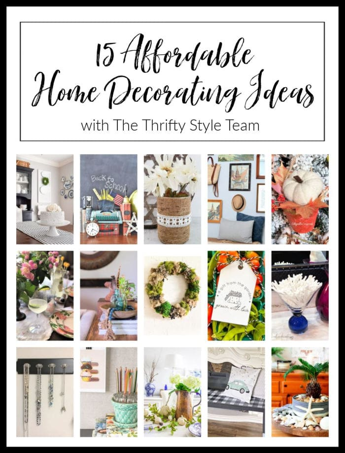 Thrifty Style Team decor collage