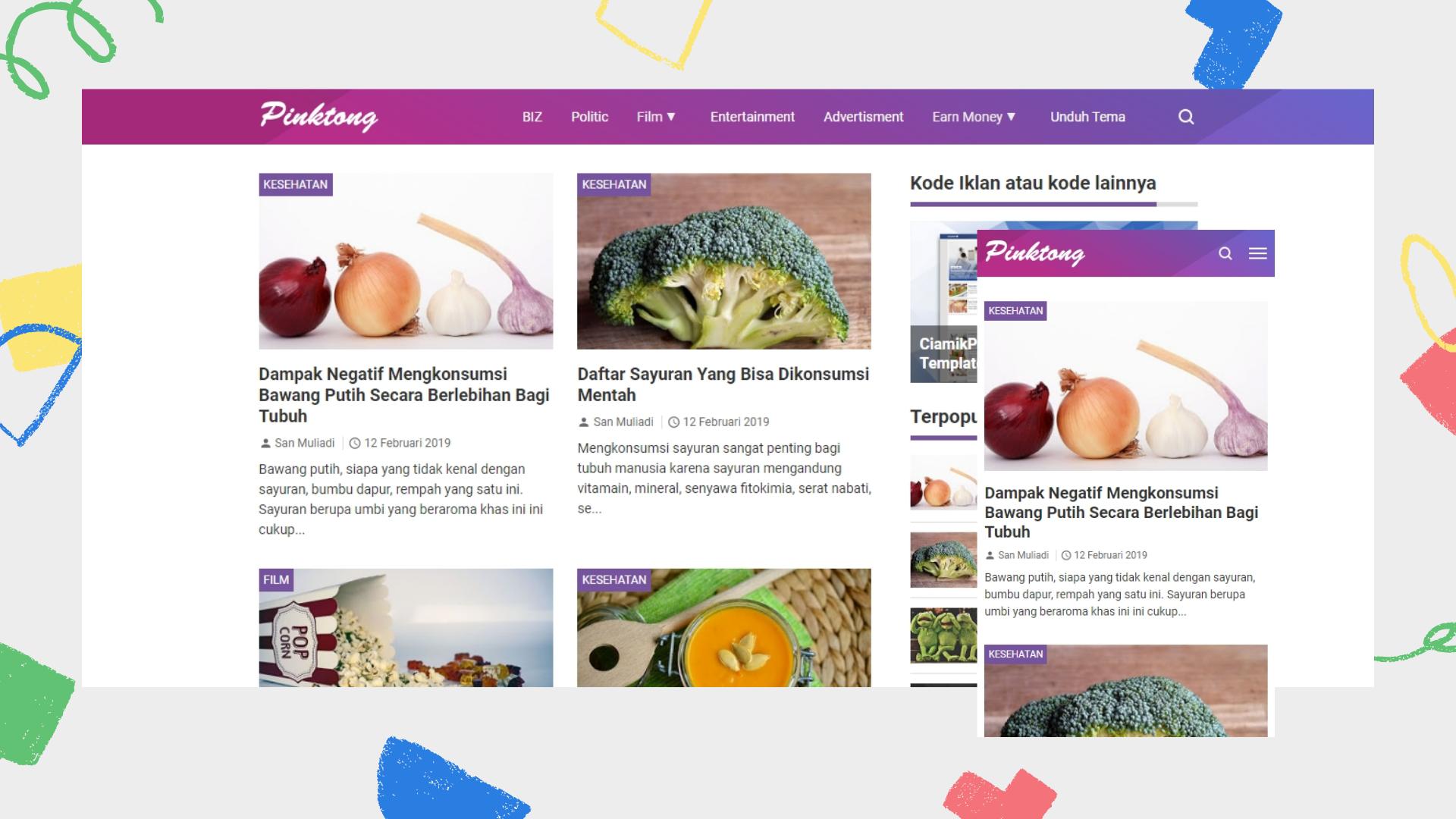 pinktong-premium-blogger-template