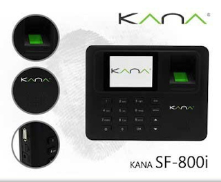 FINGERSPOT KANA SF-800  800I USB FINGERPRINT