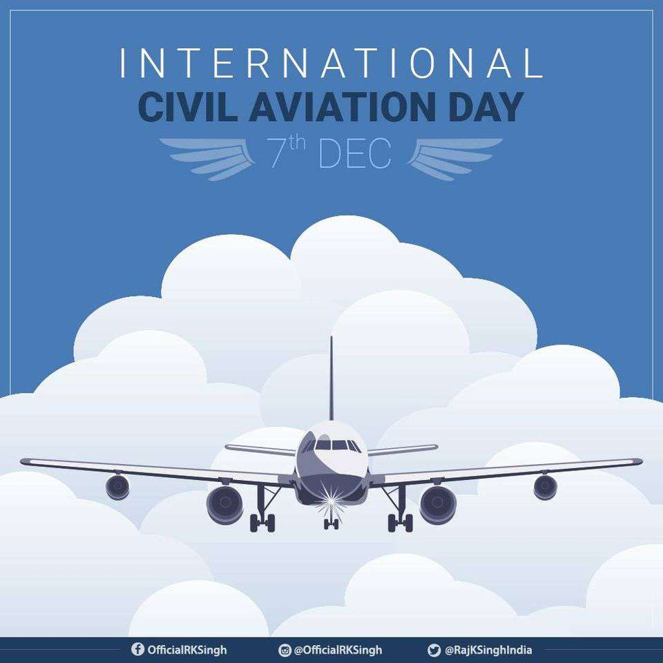 International Civil Aviation Day Wishes Pics