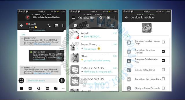 download BBM2 Mod WhiteBlack Terbaru 2.13.1.14 Clone dan Unclone