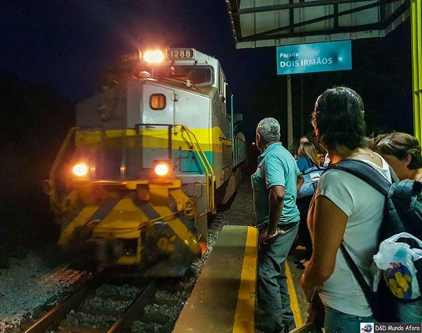Trem Vitória-Minas