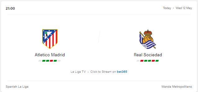 Atletico Madrid vs Real Sociedad Preview and Prediction 2021