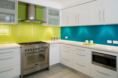 Back painted glass backsplash pros and cons