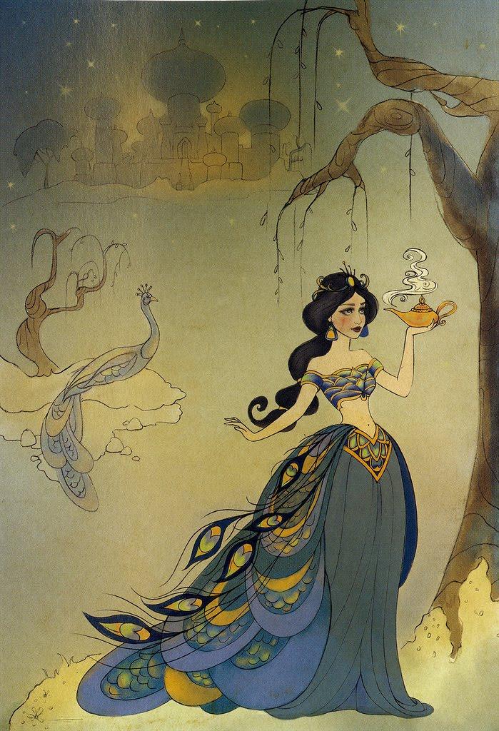Jasmine Terrace: Disney Cast: A Arte Da Princesa Disney