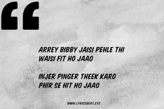 Bibby Song Lyrics – Panga  Annu Kapoor x Sherry - #LyricsBEAT